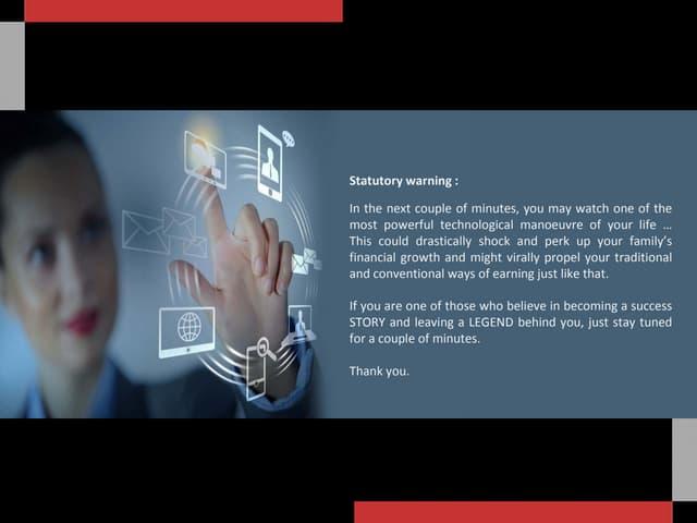 Presentation of Marketing Plan VidcommX