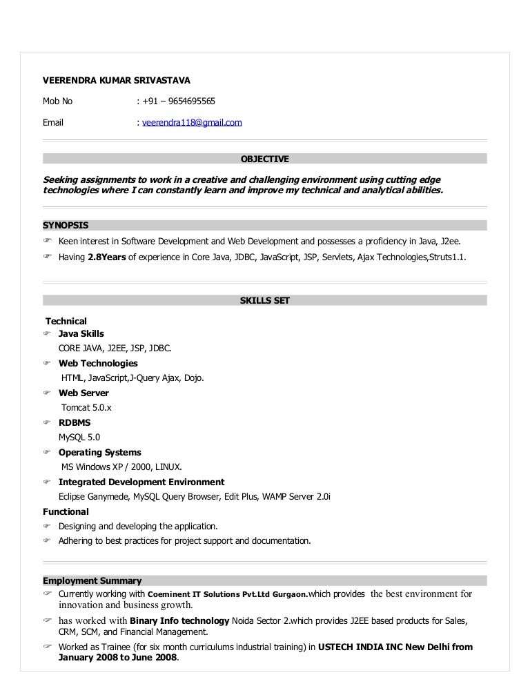 Sample Java Developer Resume Vibrant Inspiration Hadoop Developer