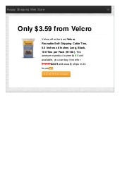 Velcro offer the best reusable selfgripping cable ties 0 only 359 reviews