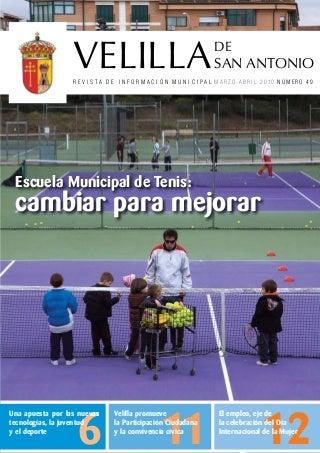 Velilla de San Antonio revista de informacion municipal