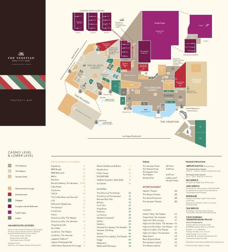 Future Floors Las Vegas: Venetian Map: Delfino Room