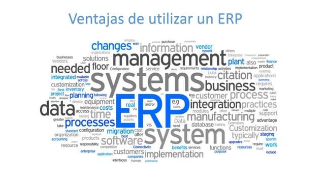 Ventajas de un ERP