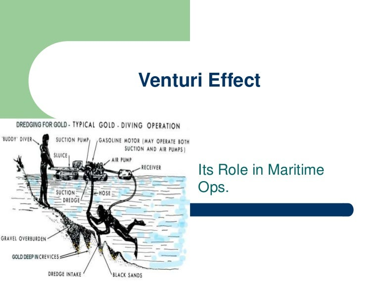 ventury effect scientific explanation of laws and dynamics