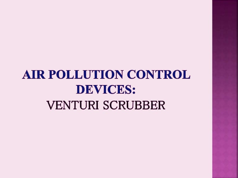 Venturi scrubber by SP