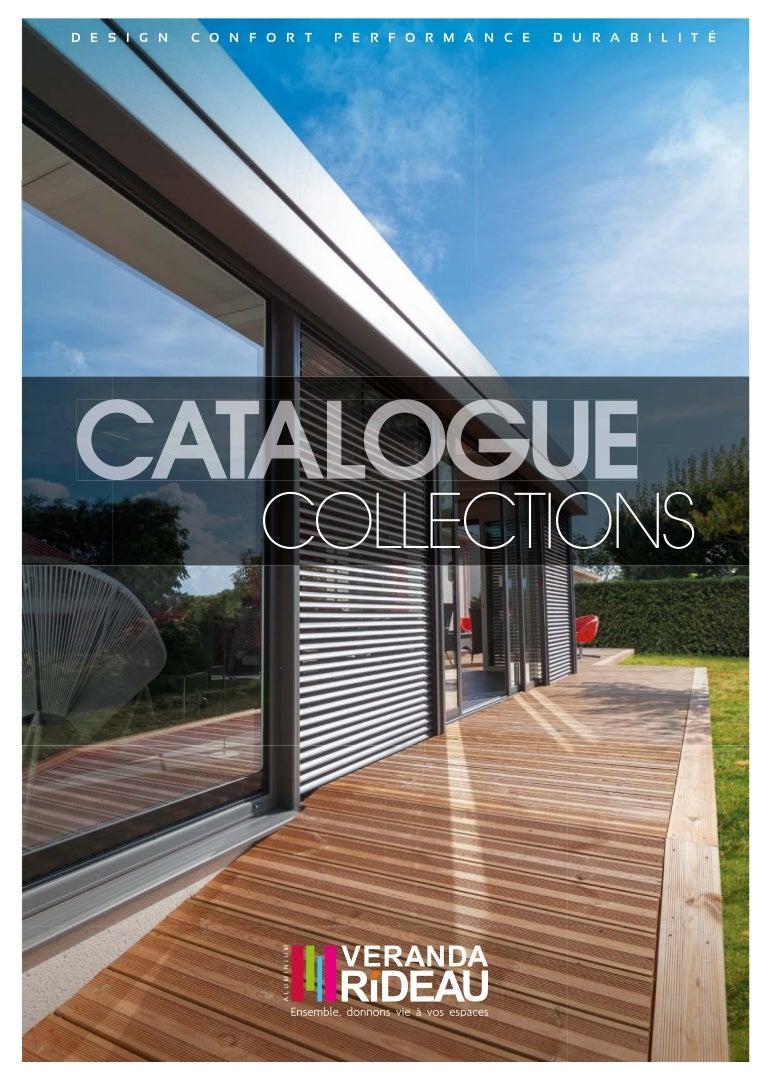 Catalogue Veranda Rideau