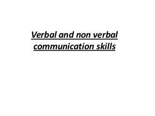 Verbal Communication Skills. | LinkedIn