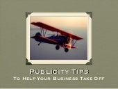 Make Money with Public Relations