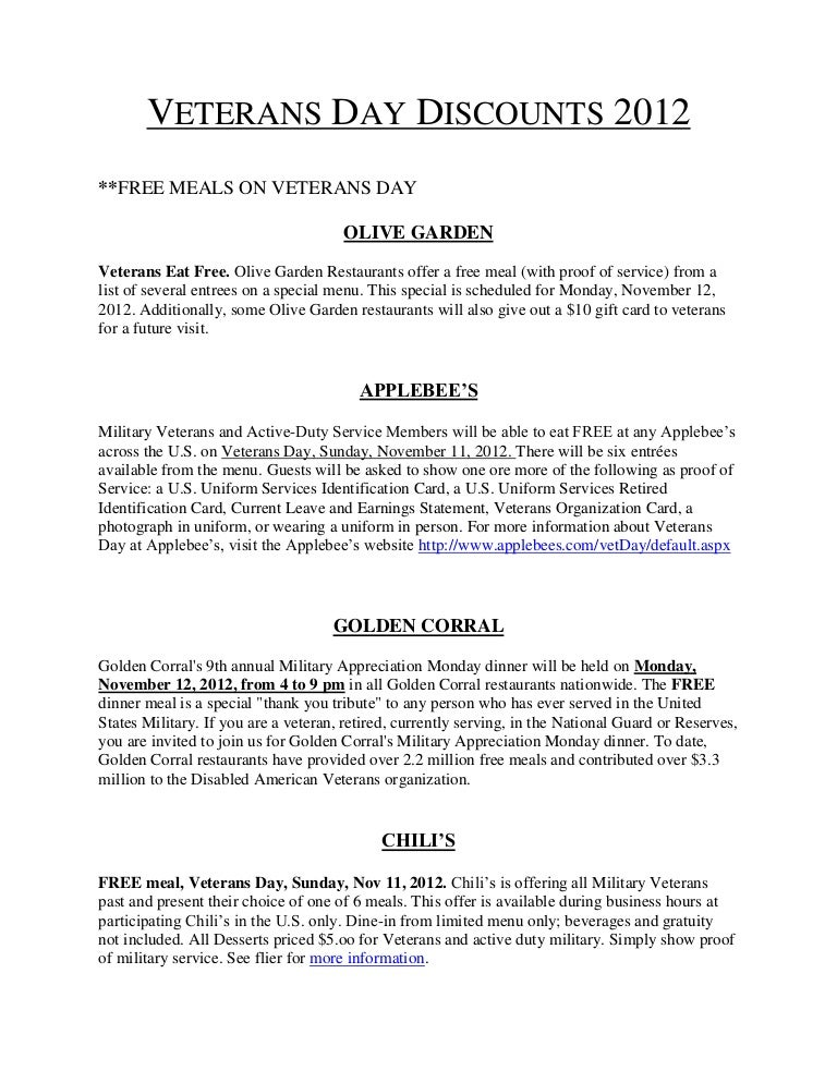 Veteransdaydiscounts2012 Pdf1