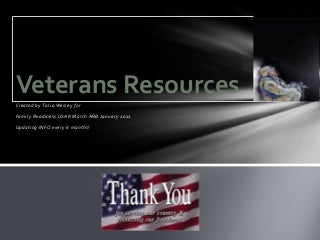 Veterans resources guide feb 2012
