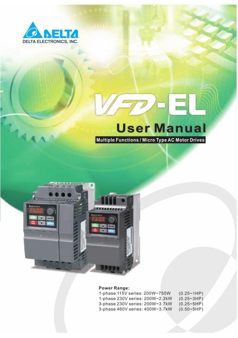 Vfd El Manual En Drives Wiring Diagram