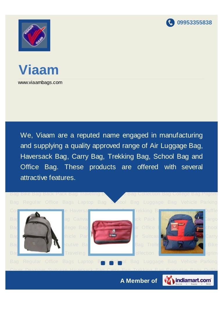 Viaam, Indore, Haversack Bag