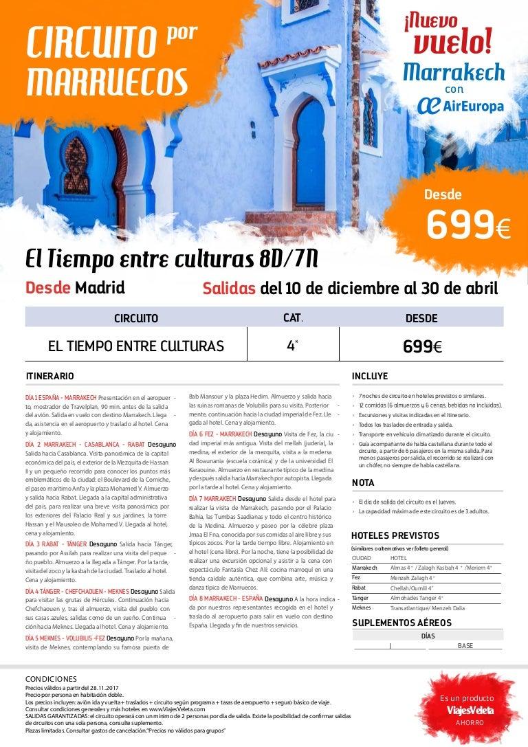 Circuito Que Habla : Viaje marruecos nuevo circuito el tiempo entre culturas 8 d 7n