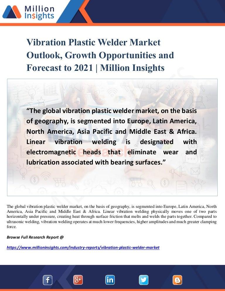 Vibration Plastic Welder Market Analysis, Size, Share and