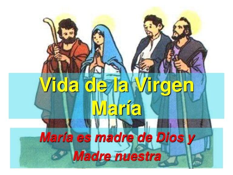 Vida Virgen María Pequeños