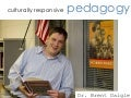 Culturally Responsive Pedagogy (Video Version)