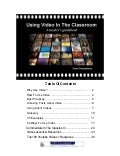 Video in-the-classroom - Teachers handbook