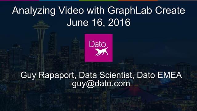 Webinar - Analyzing Video