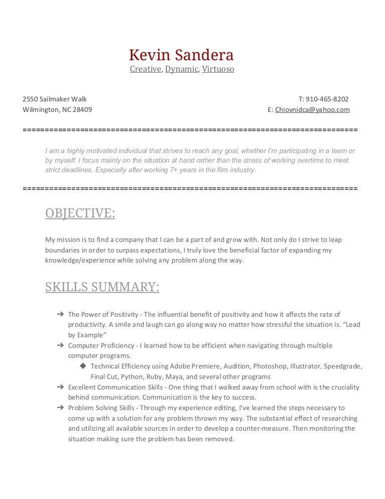 videoeditingresume 170321194120 thumbnail 4jpgcb1490125366 - Video Editing Resume