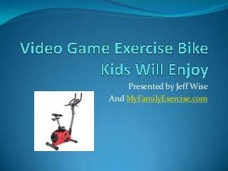 Video game exercise bike kids will enjoy