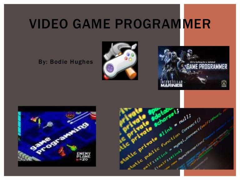 Video Game Programmer - Itt tech video game design