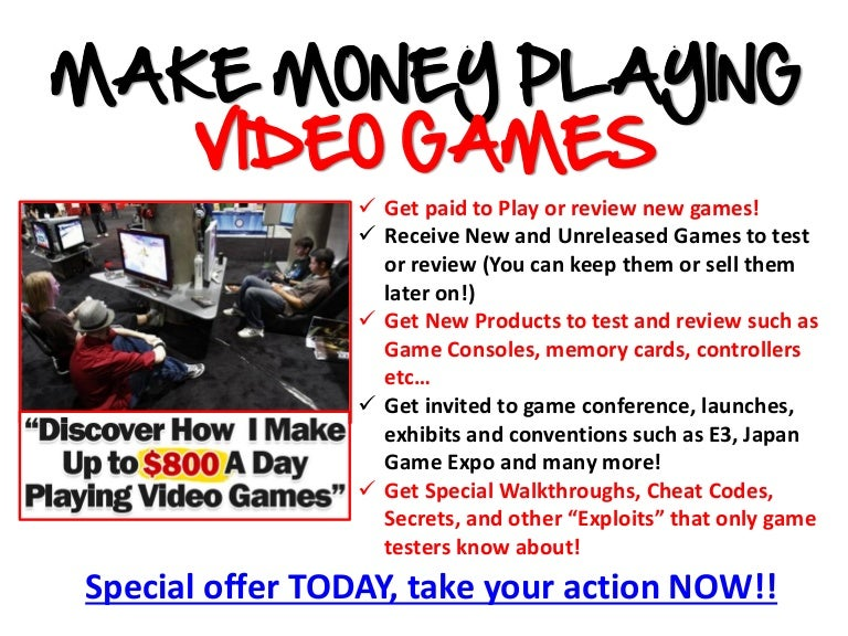 Video Game Testing Job Openings