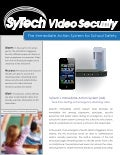 Video security with the sy tech immediate action system