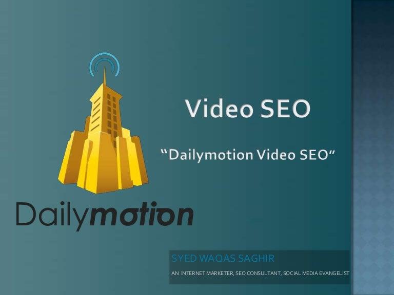 Video SEO | SEO Tips | Dailymotion SEO | SEO Optimization