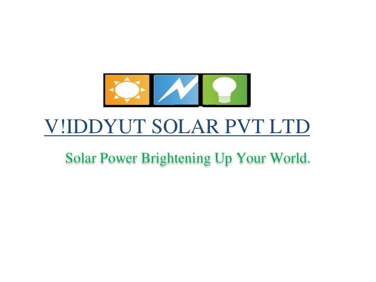 V Idhut Final Solar Pvt Ltd