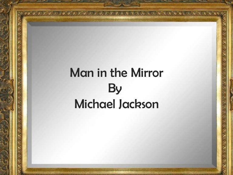 the person in the mirror poem