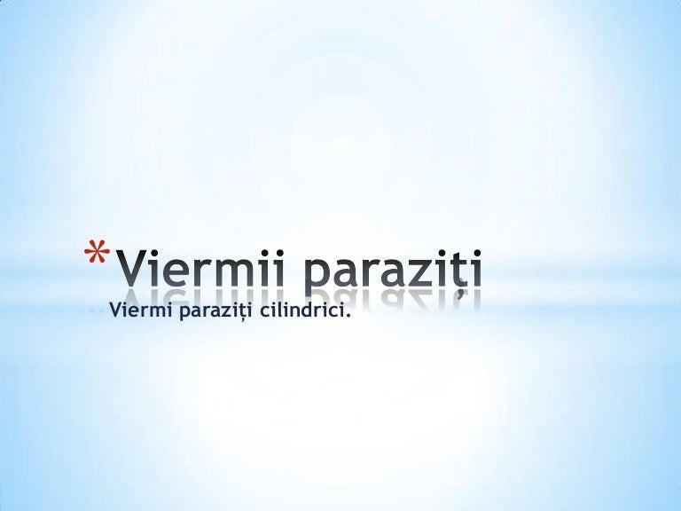VIERMII PARAZITI