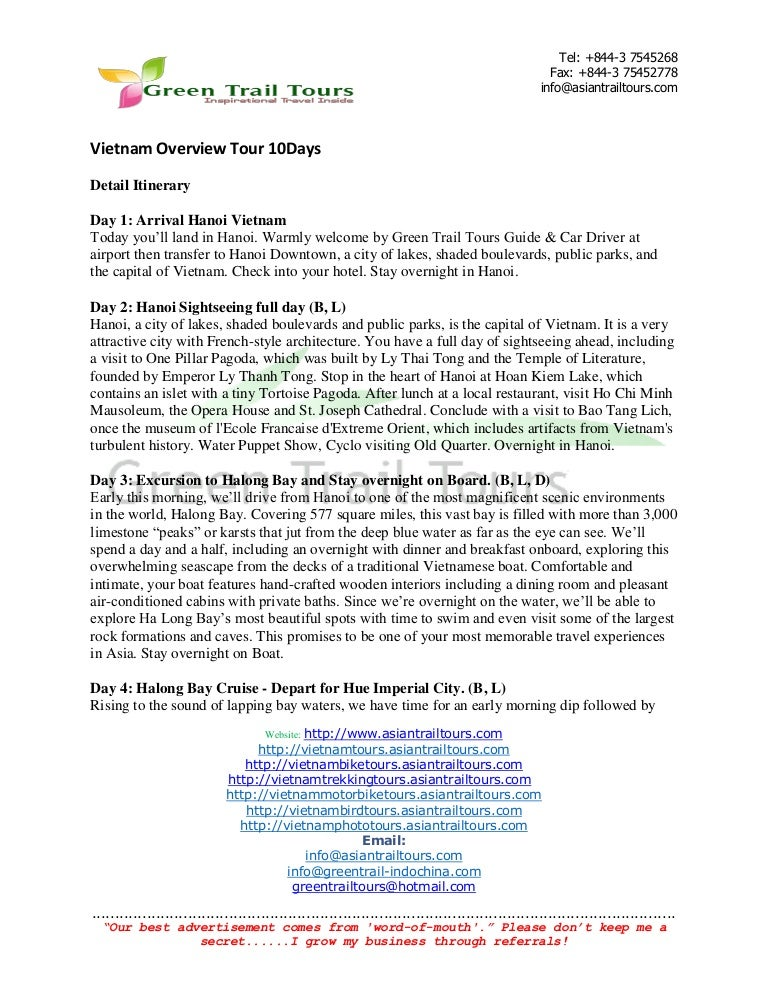 Vietnam overview-tour-10days