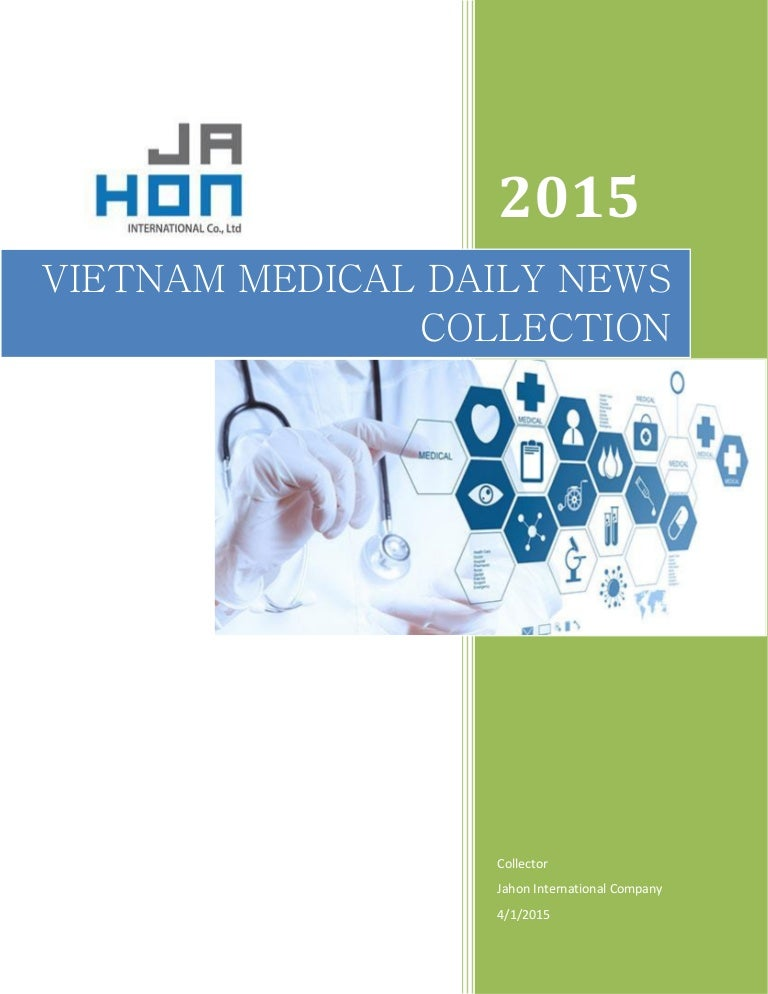 Vietnam medical news updates 2015