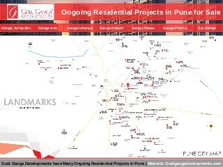 View Ongoing Residential Projects in Pune for Sale by Goel Ganga Developments