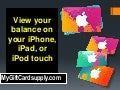 Check your balance on your i phone, ipad