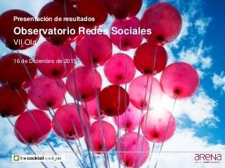 Observatorio Redes Sociales