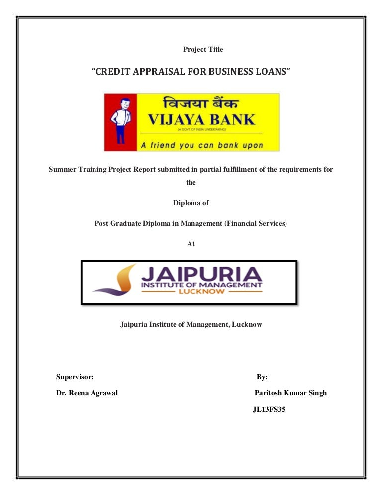 banking projects for students