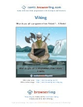 Viking - Webcomic about programmers, web developers and browsers