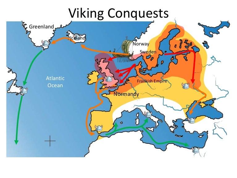 Viking Map Template - Sweden map template