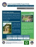 Cook County/Village of Winnekta EECBG Projet Profile