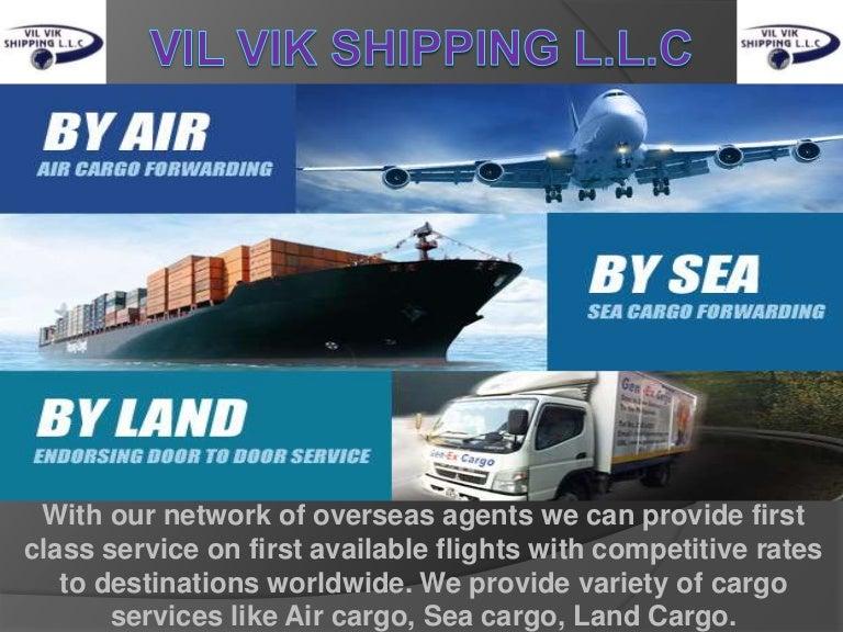 Best Shipping & Logistics Services | Vil Vik Shipping L L C
