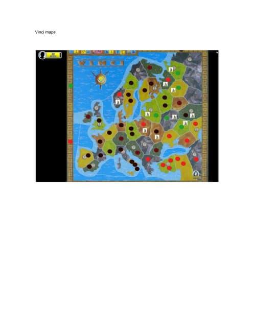 Vinci mapa