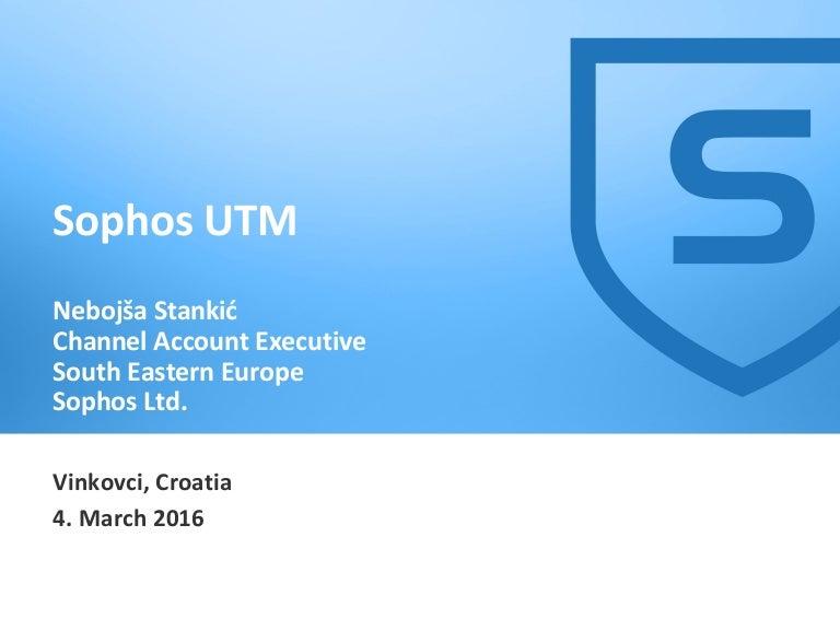 sophos utm presentation, Templates
