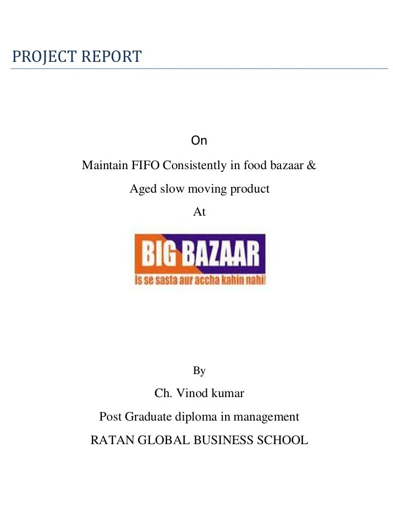 aged slow moving product at big bazaar
