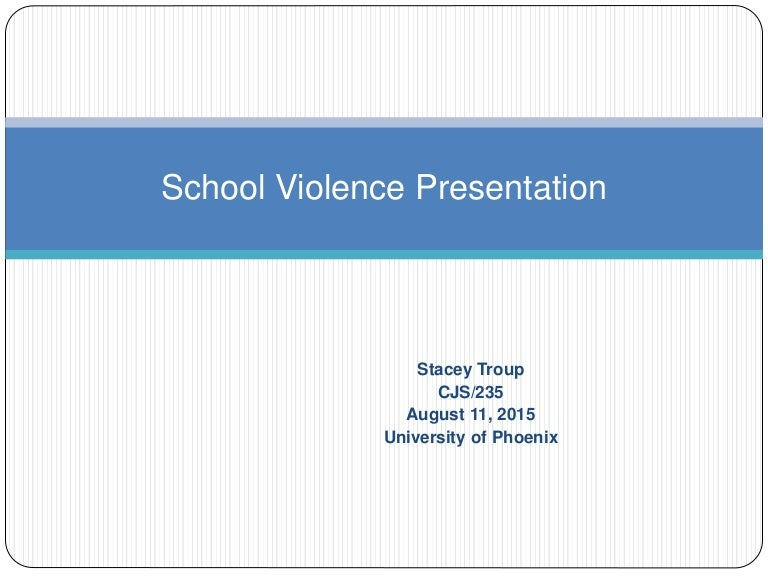 school violence essays articles The purpose of this article is to clarify the historical and definitional roots of school violence knowledge about this issue has matured to the point where there is a need to refine the definition of school violence, thereby positioning educators to take the next step in providing effective, broad-based solutions to this problemthe first section provides an overview of the definitional and.