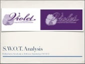 Violet company. s.w.o.t.