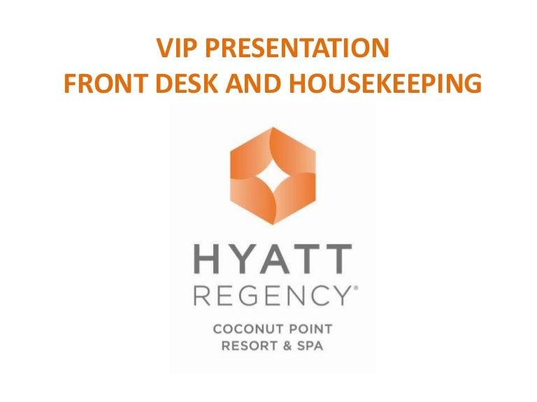 Vip amenities presentation