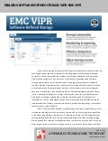 Realizing software-defined storage with EMC ViPR