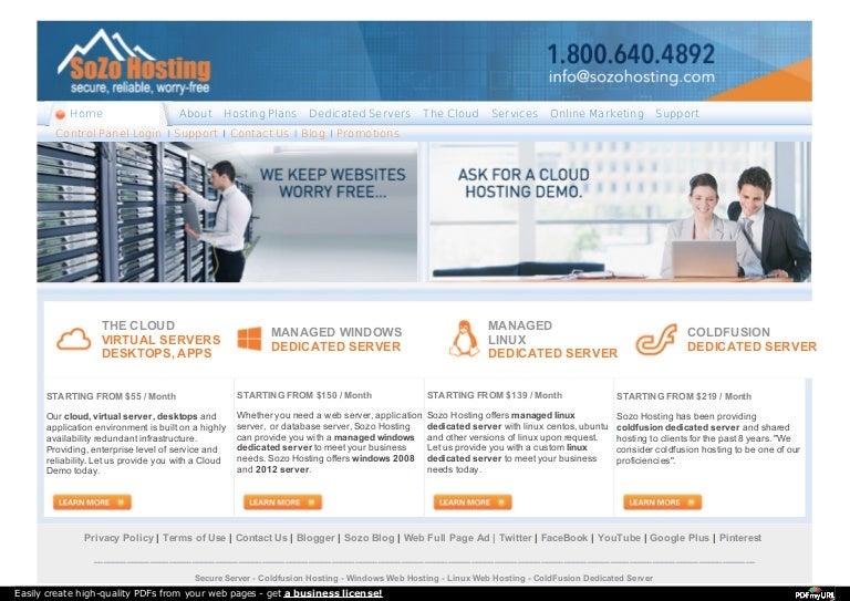 Virtual machine hosting