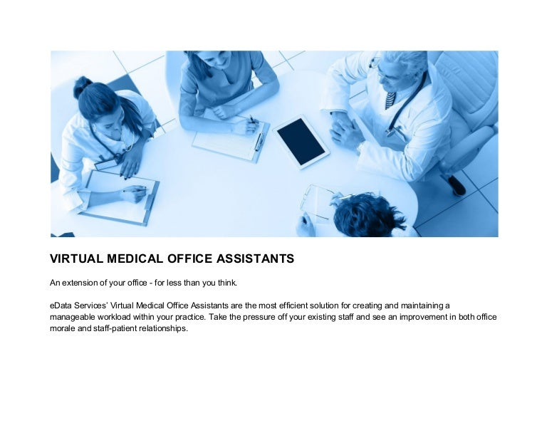 Virtual Medical Office Assistants