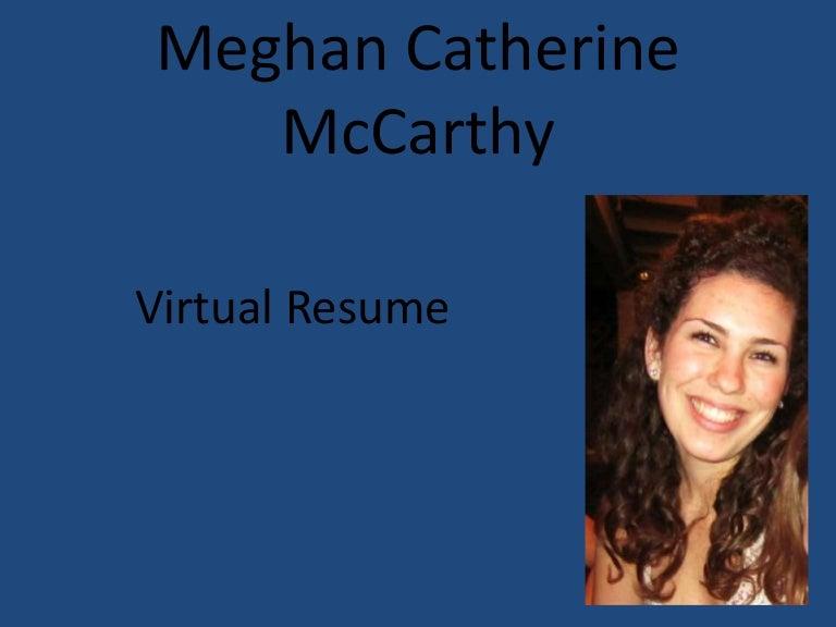 virtual resume - Virtual Resume